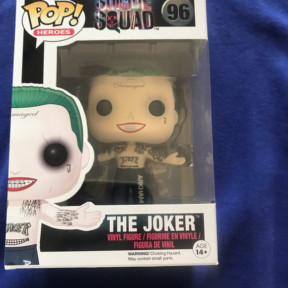 Funko Other - Suicide Swuad Joker Funko Pop